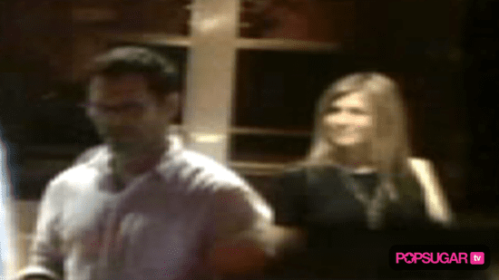 Video of Jennifer Aniston Out With a New Man