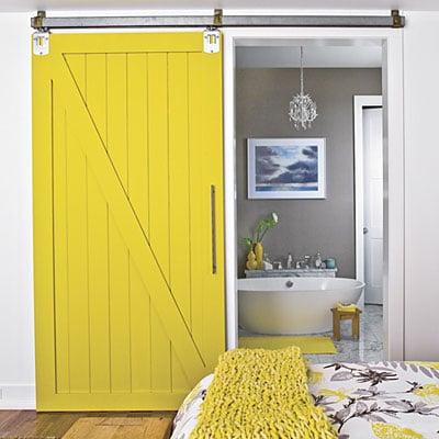 Love It or Hate It? A Barn Door in a Modern Home