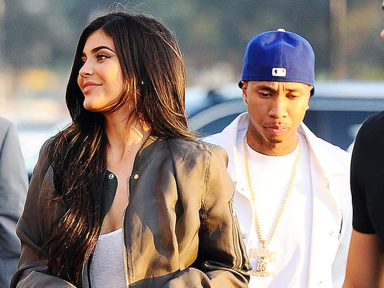 Kylie Jenner and Tyga Step Out Holding Hands at Kanye West's Premiere