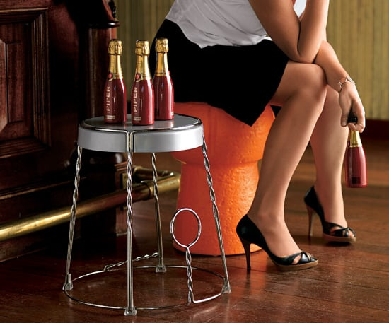 Steal of the Day: Champagne Wire Cage Stool