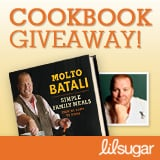 LilSugar Mario Batali Cookbook Giveaway