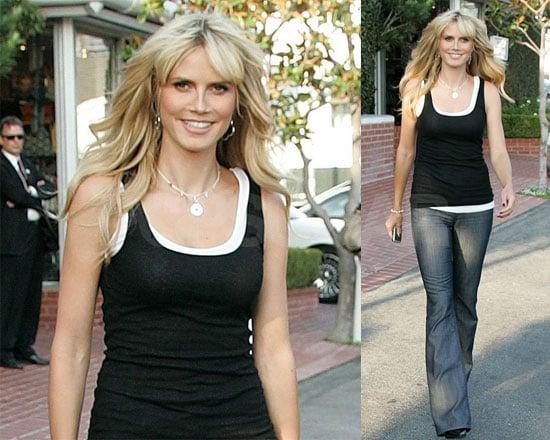 Heidi's Just A Normal Supermodel