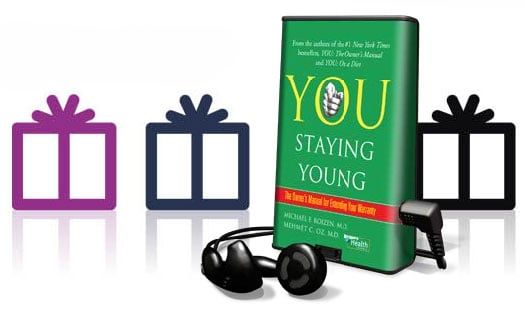 Cool Fitness Gadget: Playaway Preloaded Audio Books