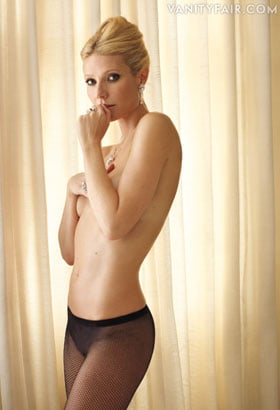 Gwyneth Paltrow pose topless dans Vanity Fair