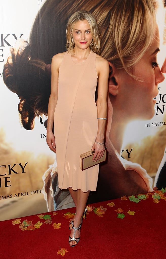 For the Australian premiere of The Lucky One in 2012, Taylor opted for a chic nude dress, which she paired with sparkly t-strap heels.