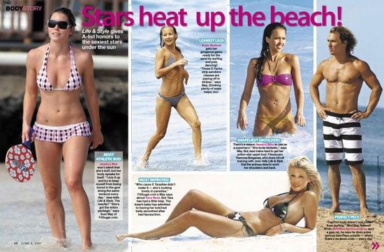 Celebs Heat Up the Beach