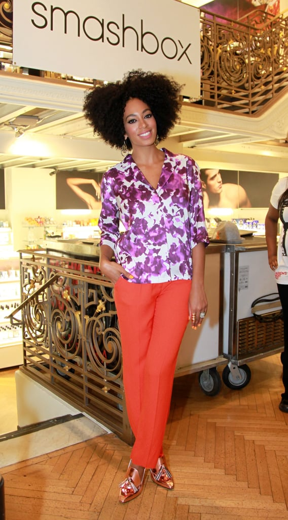 Solange Knowles attended a Sephora event in 2011.