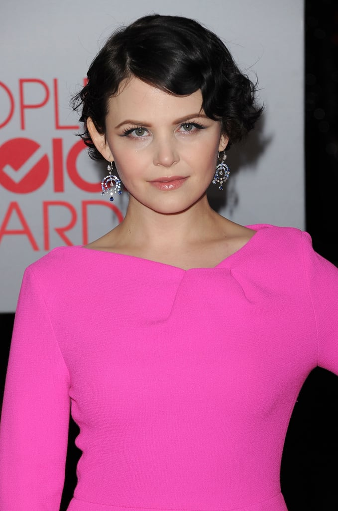 Ginnifer Goodwin gave the camera a sexy dose of attitude.