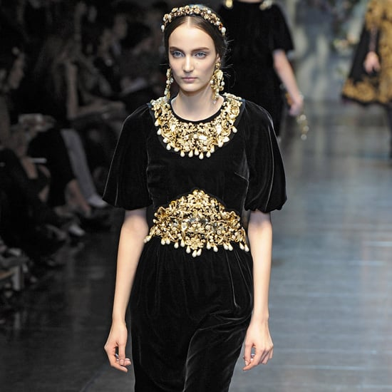 Best Velvet Dresses and Clothes For Winter 2012