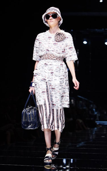 Milan Fashion Week: D&G Spring 2009