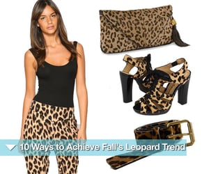 How to Wear Fall's Leopard Trend 2010-09-15 06:00:04