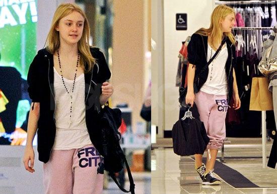 Photos of Dakota Fanning Shopping in LA