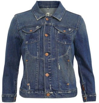 Denim Jacket in the Style of Rihanna, Chloe Sevigny, Spring 2009