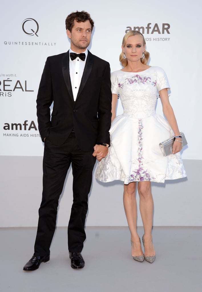 Diane and Joshua Jackson are one stylish couple — the former is killing it in a Chanel Resort '13 LWD.