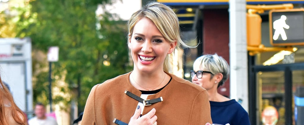 Hilary Duff Is as Cute as a Button During an Outing in the Big Apple