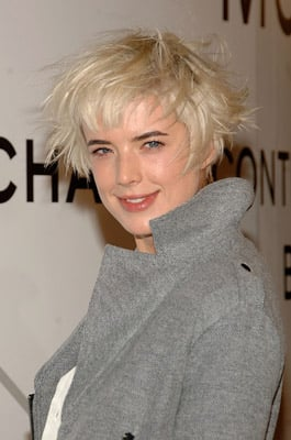 Agyness Deyn's Hair at Chanel Party