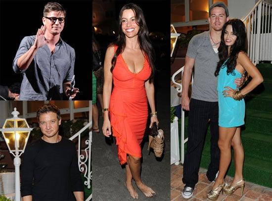 Channing Tatum, Jenna Dewan, Jeremy Renner, Josh Hartnett and Sophia Vergara at Ischia Film and Music Festival