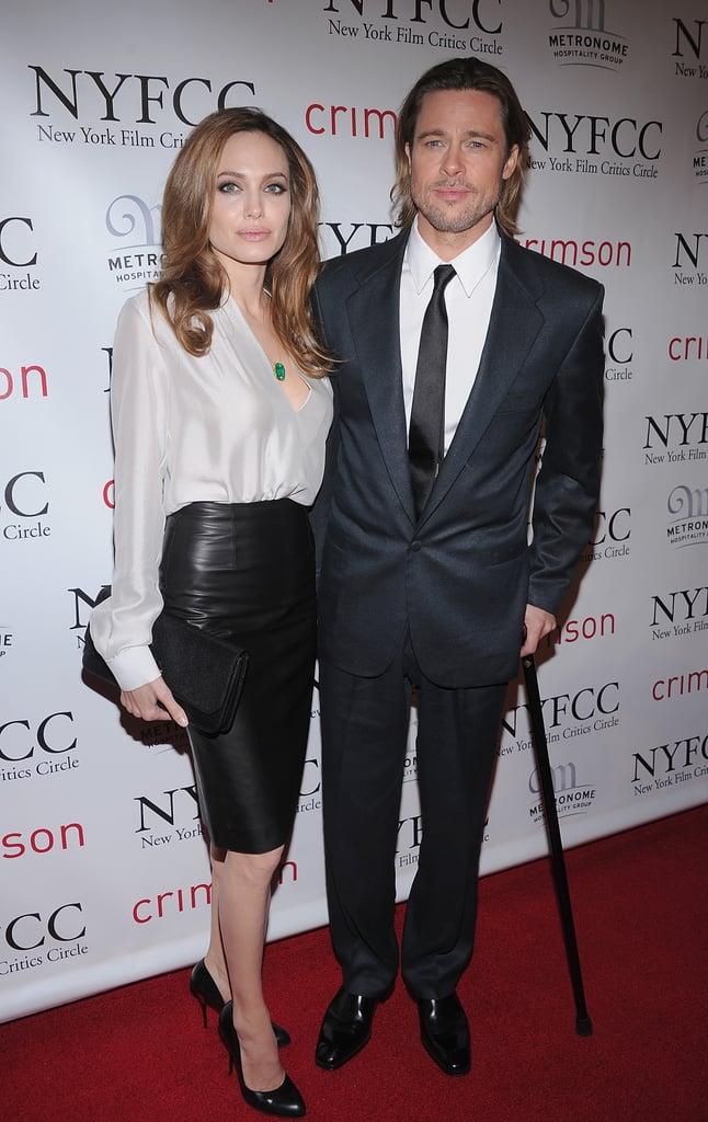 Brad Pitt and Angelina Jolie Take Their Awards Season Tour to New York