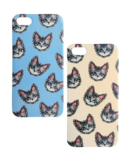 These glittering kitty cases ($90) are the perfect mix of fun and flashy.