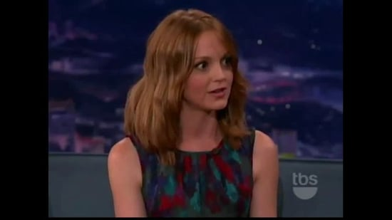 Jayma Mays Shows Off Impressive Eye Tricks on Conan
