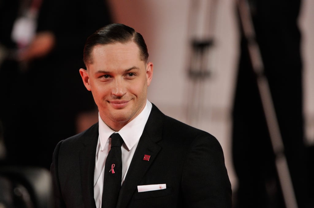 Tom Hardy hit the red carpet at the Venice Film Festival.