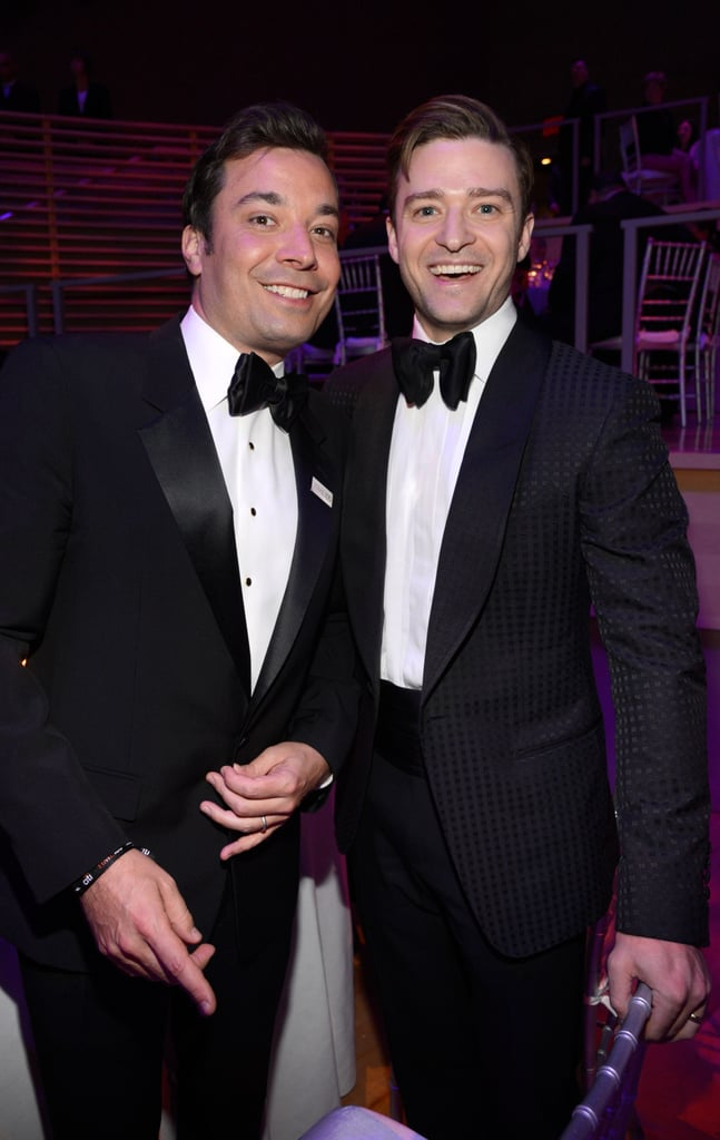 Jimmy Fallon and Justin Timberlake enjoyed their time at the Time dinner.