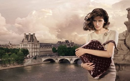Laetita Casta Takes Paris for Louis Vuitton