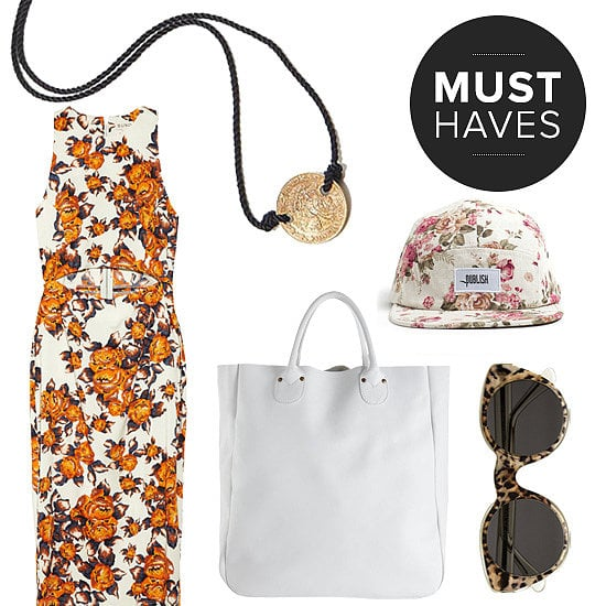 POPSUGAR Fashion's April shopping list includes an array of refreshing floral prints, chic totes, and statement accessories to finish off their warm-weather ensembles.