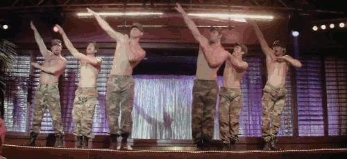 Army-Themed Dance Routines