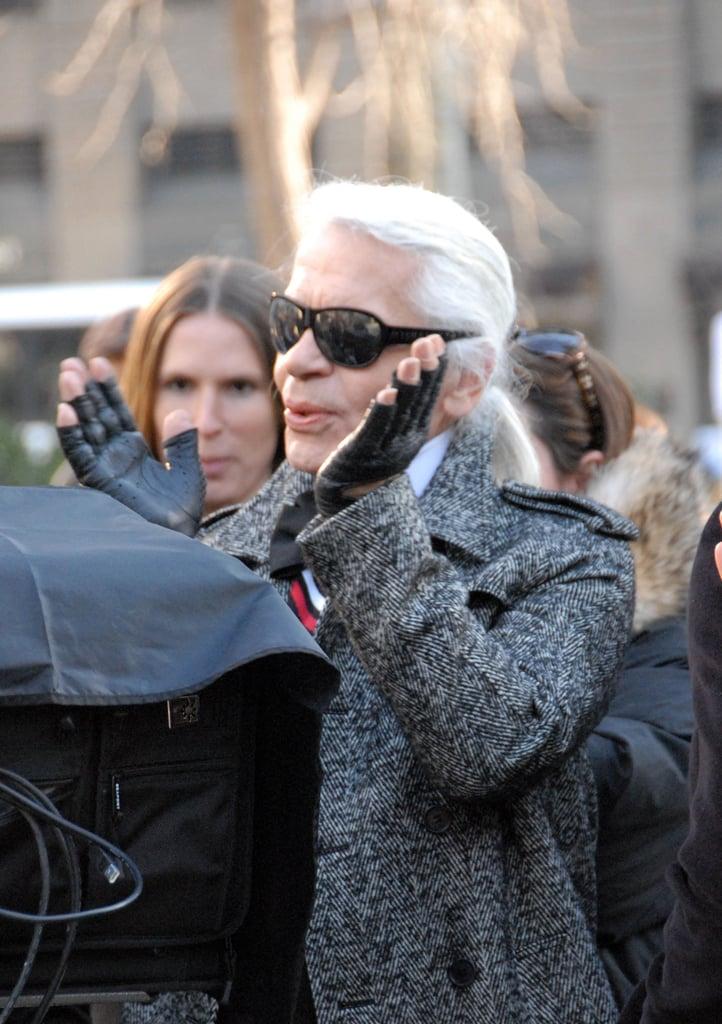 Karl Lagerfeld Gets Behind the Camera