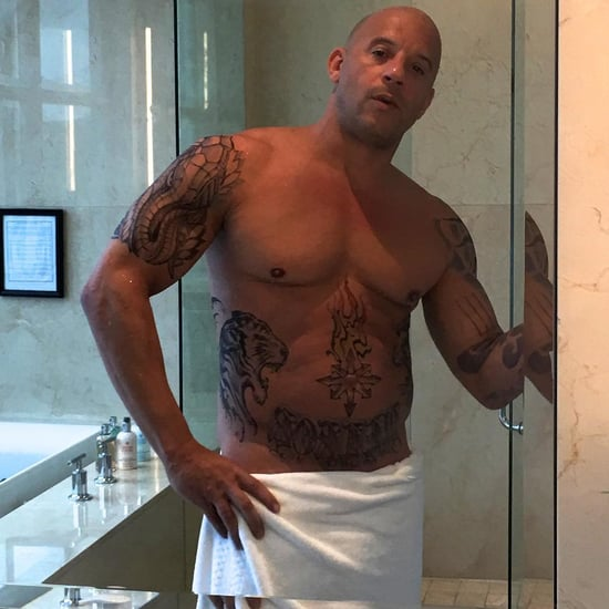Vin Diesel Posts a Shirtless Photo on Instagram 2016
