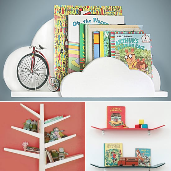 12 Functional and Cool Bookshelves For Kids