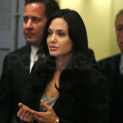 Angelina Jolie at the Council on Foreign Relations