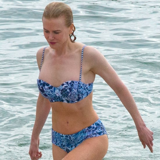 Nicole Kidman in a Bikini on the Beach in Sydney 2016