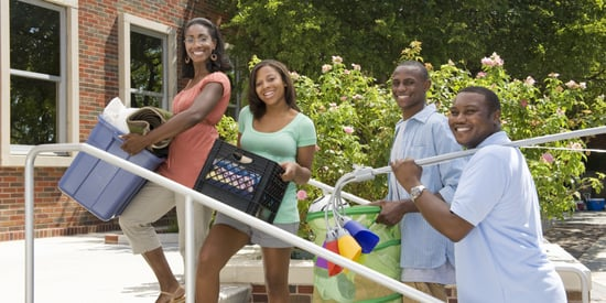 College Move-In? Keep Your Head Up & Enjoy the Other Side