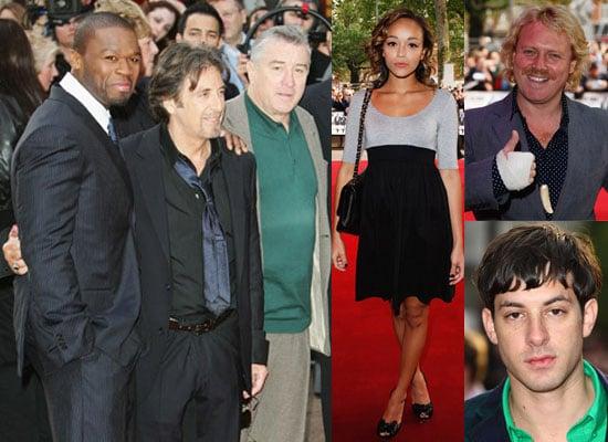 Photos Of 50 Cent, Al Pacino and Robert De Niro at Righteous Kill UK Premiere