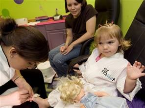 Should Children Be Going to Spas?