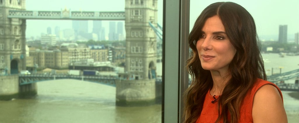 """Sandra Bullock Sees a Role as """"Stay-at-Home Mom"""" in Her Future"""