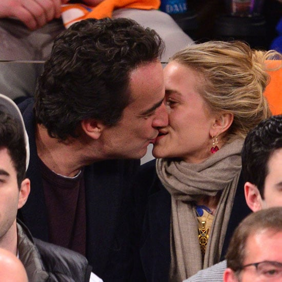 Mary-Kate Olsen and Olivier Sarkozy Kissing