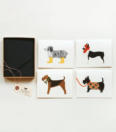 Rifle Paper Co. - Dog Series - Assorted Set ($16)