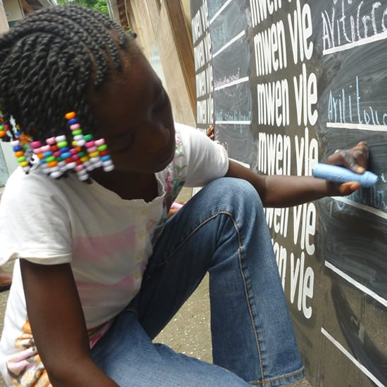 """""""Before I Die"""" Art Project Pictures"""