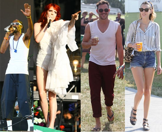 Gallery of Pictures Of Celebrities at Glastonbury 2010 Gorillaz, Alexa Chung, Kate Moss, Emma Watson, Florence, Snoop and More 2010-06-26 03:16:35