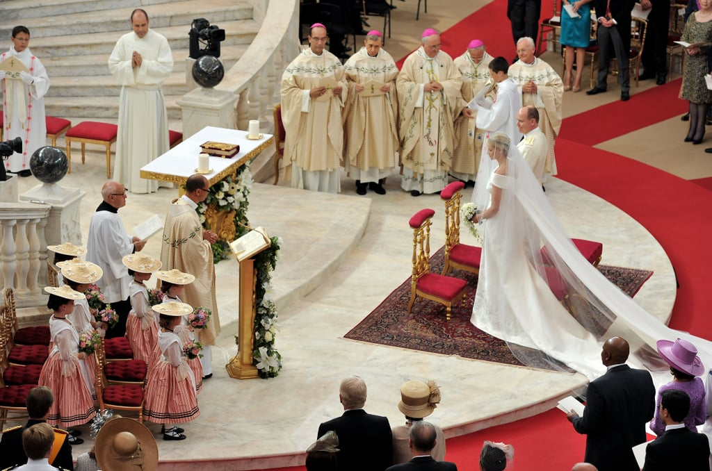 Charlene Wittstock and Prince Albert II Religious Wedding Ceremony