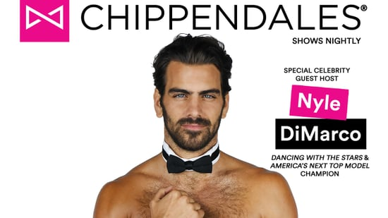 Nyle DiMarco Strips Down for Chippendale's Guest Host Gig -- See the Shirtless Shots!