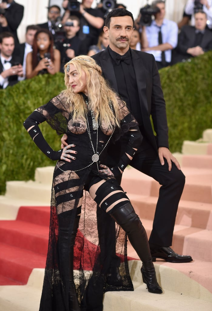 When Madonna and Riccardo Tisci Had the Same Pose