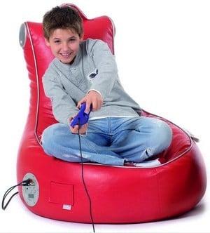 The SlouchPod Interactive Gaming Chair