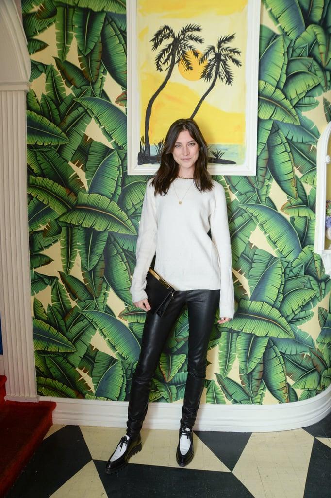 Jacquelyn Jablonski at the Vensette Beauty on Demand app launch.