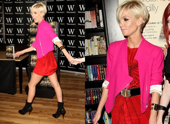 Sarah Harding at Waterstones Book Launch, Aminaka Wilmont, Georgina Goodman