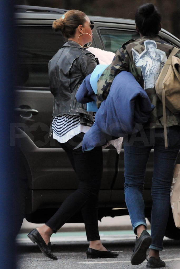 Beyonce Knowles with daughter Blue Ivy Carter.