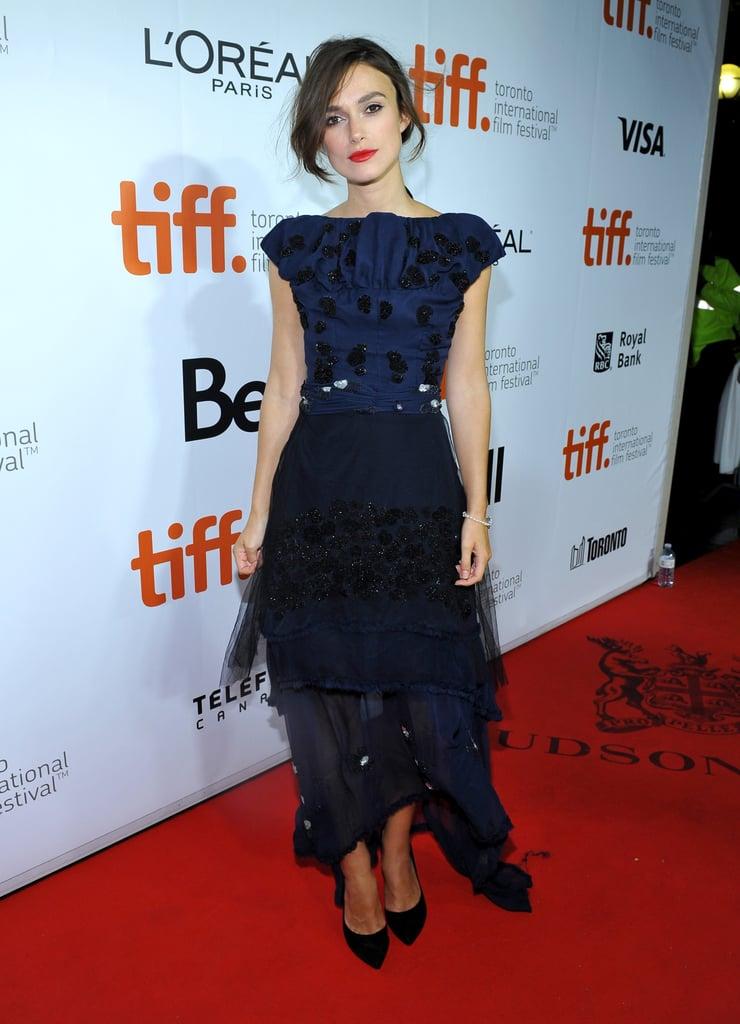 Keira Knightley at the 2014 Toronto International Film Festival